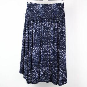 🍁 Loft Womens Skirt Ann Taylor Size Small Blue